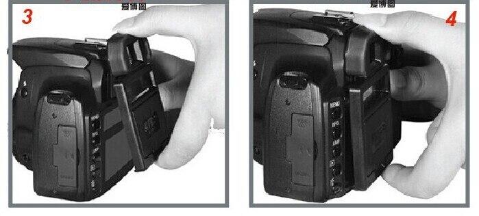 Câmera LCD Capa Protetora de Tela e