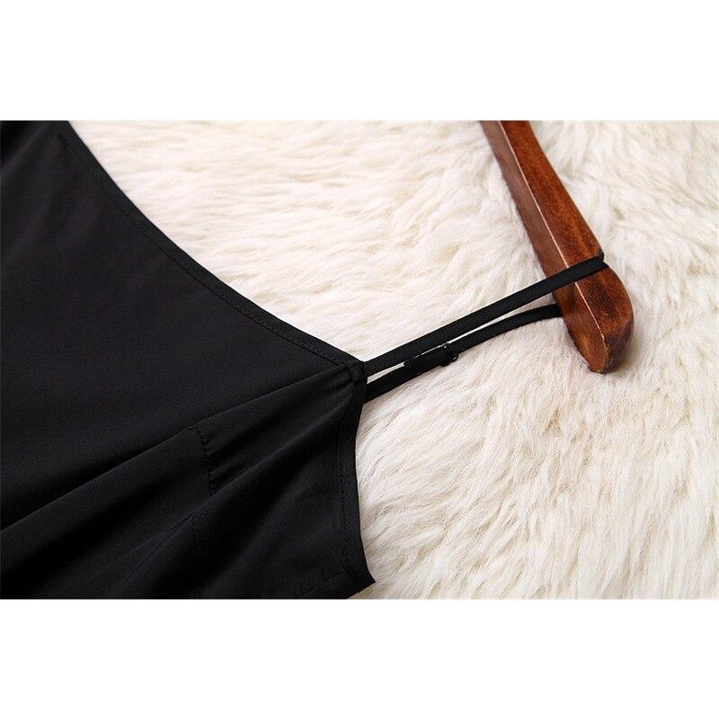 VERDEJULIAY, осень 2019, модное подиумное офисное платье, женское, длинный рукав, вышивка бисером, черное, ТРАПЕЦИЕВИДНОЕ, тонкое, элегантное платье - 6