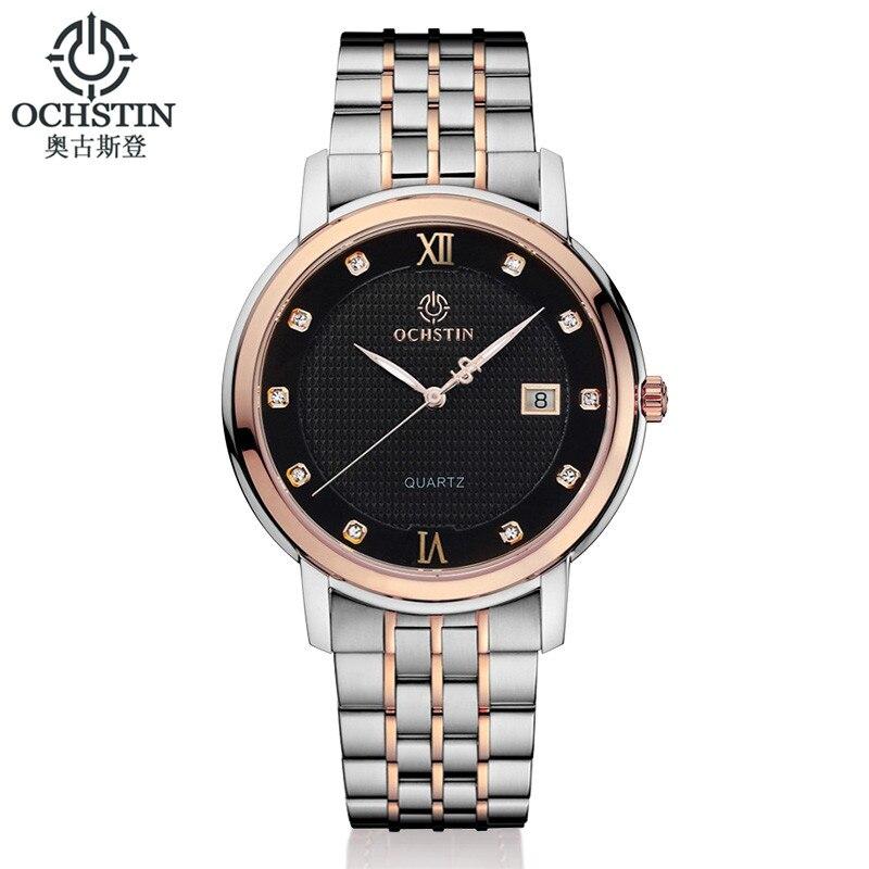 OCHSTIN Brand Men s Clcok Women Simple Fashion Casual Watches Men Date Waterproof Lady Quartz Mens