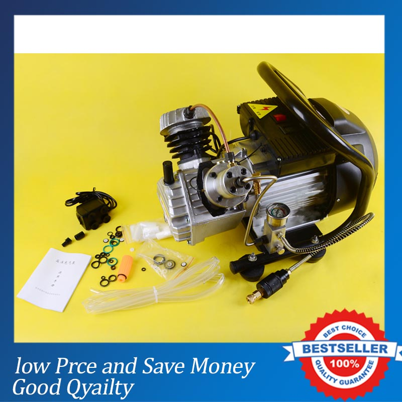 NEW High Pressure Air Pump 2.2KW Big Power Air Compressor Electrical Air Compressor for Airgun scuba rifle PCP Inflator high pressure air compressor piston air compressor cheap air compressor air compressor price