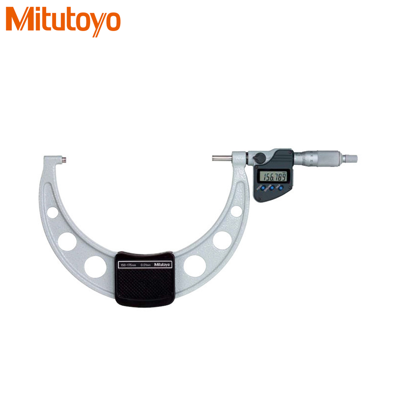100% Real Japan Mitutoyo Digital Outside Micrometer 100-125mm/ 0.001mm IP65 Water-proof Electronic Gauge Measuring Tools цена