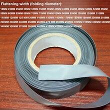 1 キロシルバー 18650 26650 リチウムバッテリー、 pvc 熱収縮スリーブバッテリースキン更新シュリンクパッケージ絶縁フィルム
