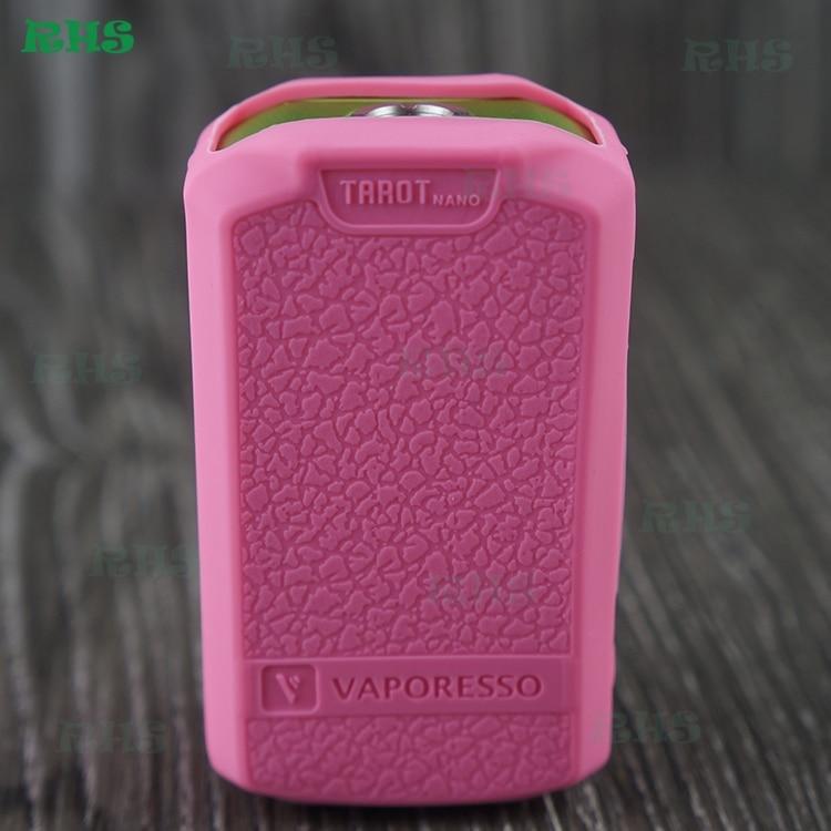 2pcs free shipping Colorful Silicone case cover sleeve for e cig mod tarot nano 80w box