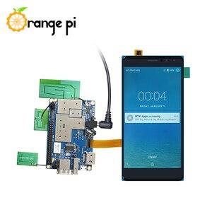 Image 4 - Orange Pi 4G IOT Set6: orange Pi 4G IOT + 5,5 inch Schwarz Farbe TFT LCD Touch Screen + 4G Kamera + Netzteil