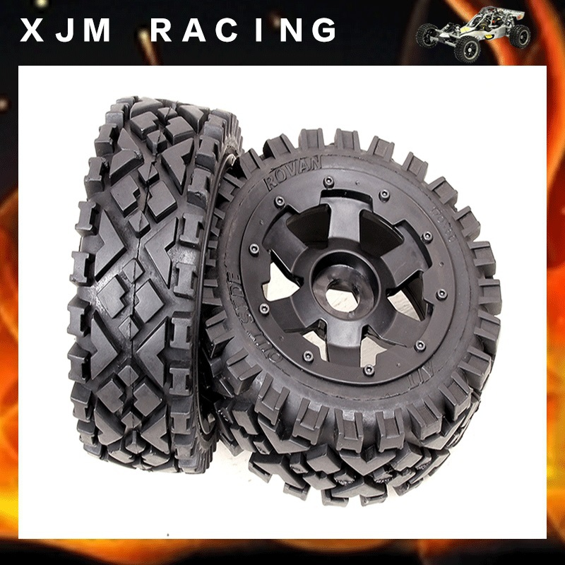 Front All Terrain Reifenset fur HPI Baja 5B SS 2 0 Tuning Flux Carbon Fighter Or