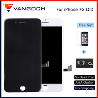 AAA Quality No Dead Pixel Display For IPhone 7 LCD Replacement With 3D Touch Digitizer Assembly