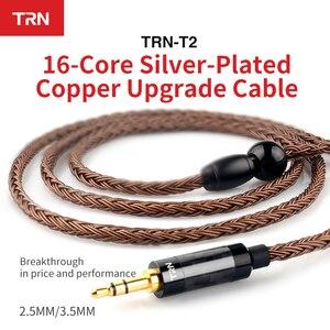 Image 3 - 새로운 3.5/2.5/4.4mm 밸런스드 케이블 16 코어 실버 도금 hifi 업그레이드 케이블 kz as10 zs10 zst cca c10 c16 용 mcx/2pin 커넥터