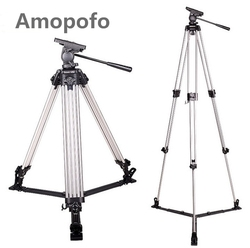 Amopofo ST-6958H Professional Tripod for Canon and for Sony DSLR Camera Camcorder Photography Camera Tripod