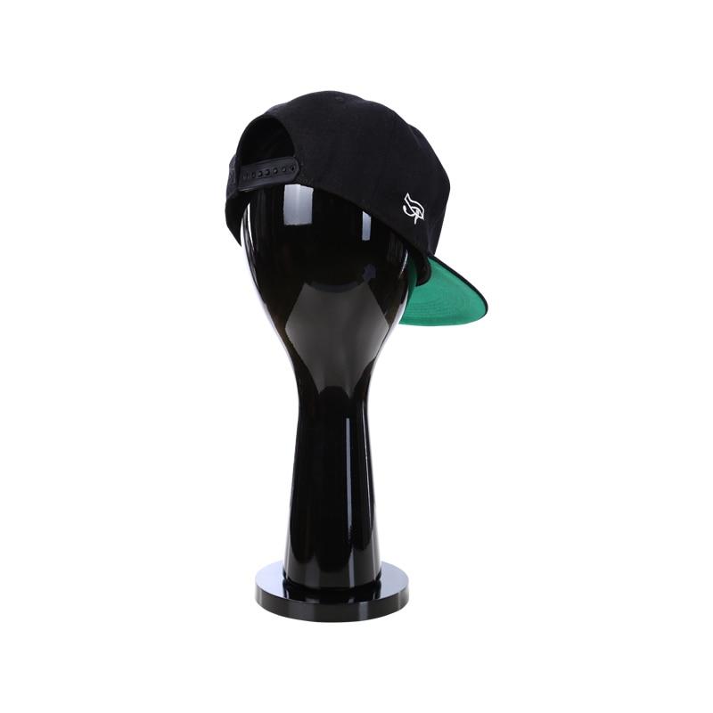 D10 black Head mannequins for male/female Hat long/short hair Wig Women/Man model glasses accessories mannequin window Display