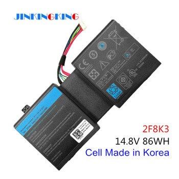 Korea Cell New 2F8K3 Laptop Battery for DELL Alienware 17 18(ALW18D-1788) M18X M17X R5 2F8K3 0KJ2PX G33TT 14.8V 86WH