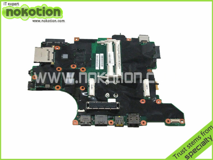NOKOTION Mainboard for Lenovo ibm thinkpad t410s Laptop motherboard intel i5-540m qs57 NVDIA N10M-NS-S-B1 DDR3 75Y4160 nokotion laptop motherboard for lenovo g570 la 675ap mainboard intel hp65 ddr3 socket pga989