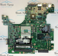 0W15K F1R94 DA0UM3MB8E0 REV:E REV:A00 PWB:5X2FJ HM55 PGA989 motherboard for Dell Inspiron 1764