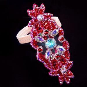 Image 4 - Femmes accessoires de danse du ventre pierres senior anneau de pied strass accessoires de danse du ventre anneau de pied filles accessoires de danse