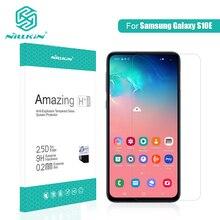 Para Samsung Galaxy Protetor de Tela de Vidro NILLKIN Surpreendente S10e H/H + PRO 9 H de Vidro Temperado para Galaxy s10e protetor de vidro 5.8
