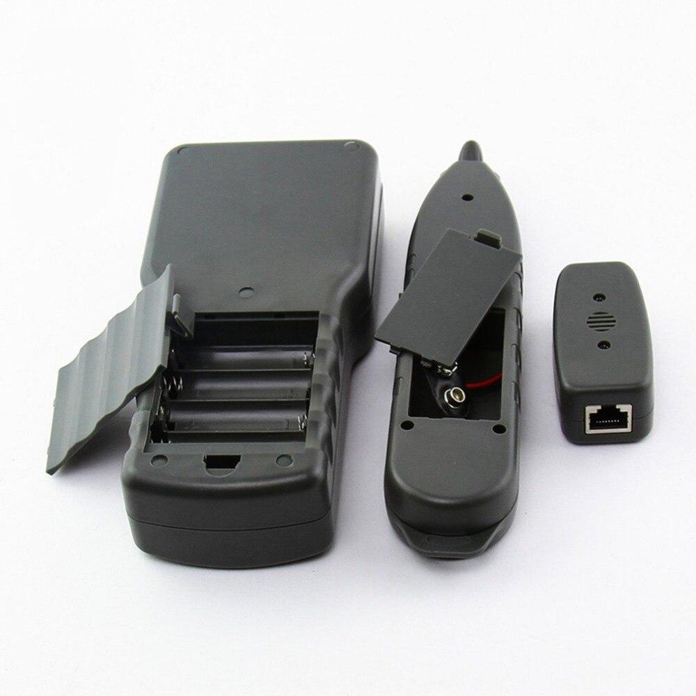 Noyafa LAN RJ45 testeur de câble réseau Ethernet testeur de longueur de câble avec écran LCD rétro-éclairage - 5