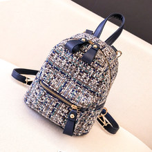 Female Wool Backpack Purse…
