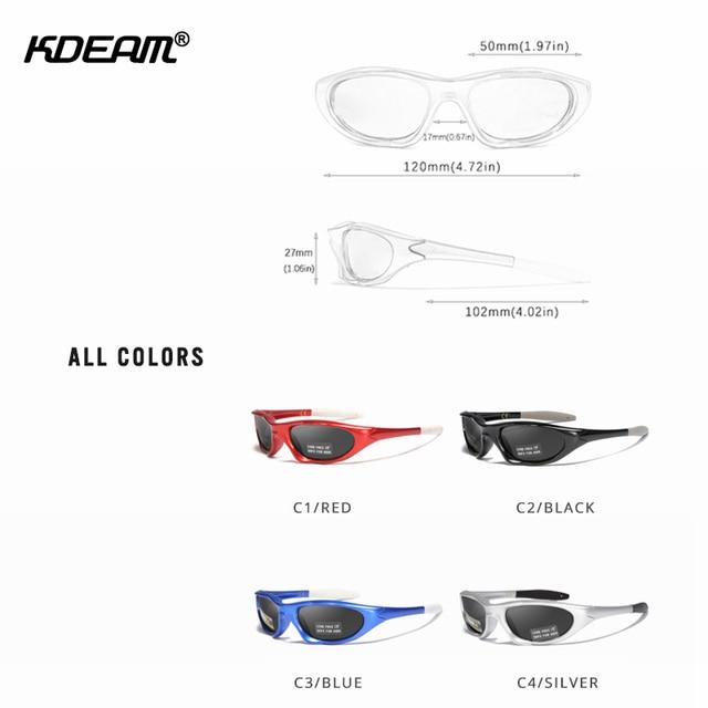 KDEAM Kids Polarized Sunglasses  3