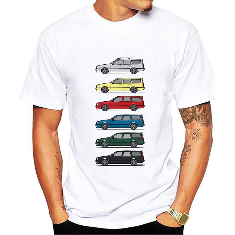 Turbo Wagons Men's T Shirt Volvo 850 V70 T5 T Shirt Men
