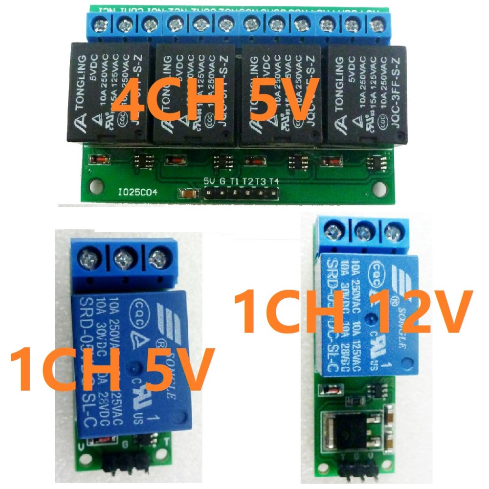 5v 12v 1 4ch Flip Flop Latch Relay Module Bistable Self