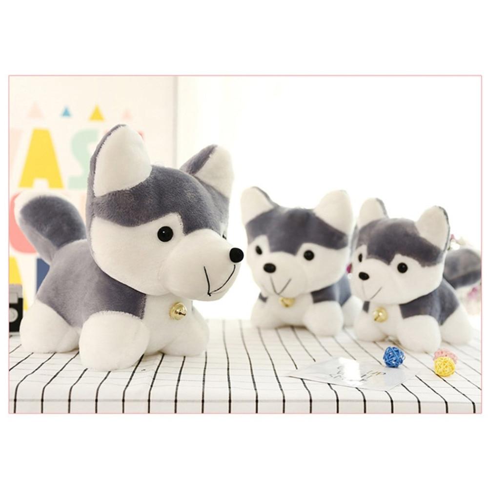 Hot! OCDAY Husky Plush Toy Simulation Dog Baby Sleeping Appease Doll Kids Birthday Xmas Gifts Toys For Children