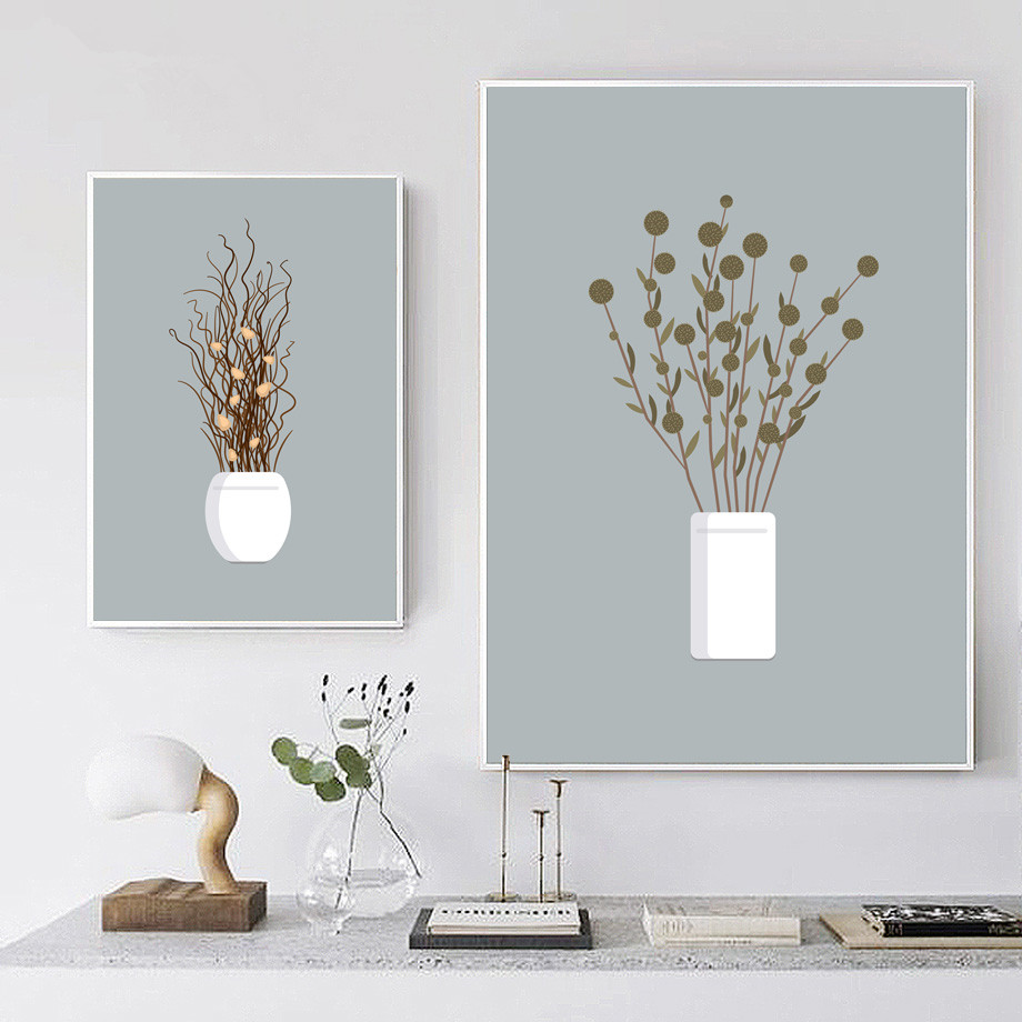 Potted-Plant-Flower-Wall-Art-Canvas-Painting-Nordic-Posters-And-Prints-Wall-Pictures-For-Living-Room (2)