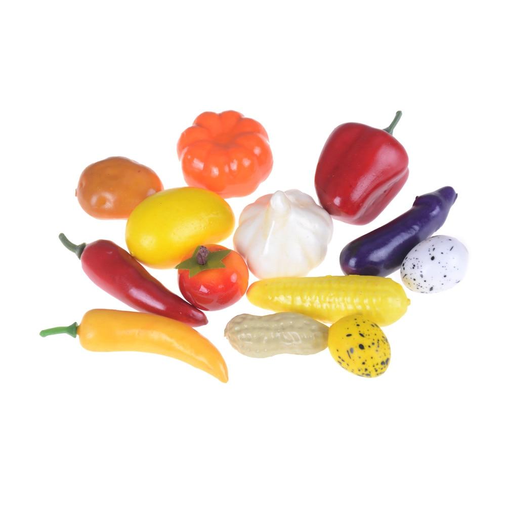 Dollhouse 10 Miniature Green Bell Peppers Lot 1cm US Seller