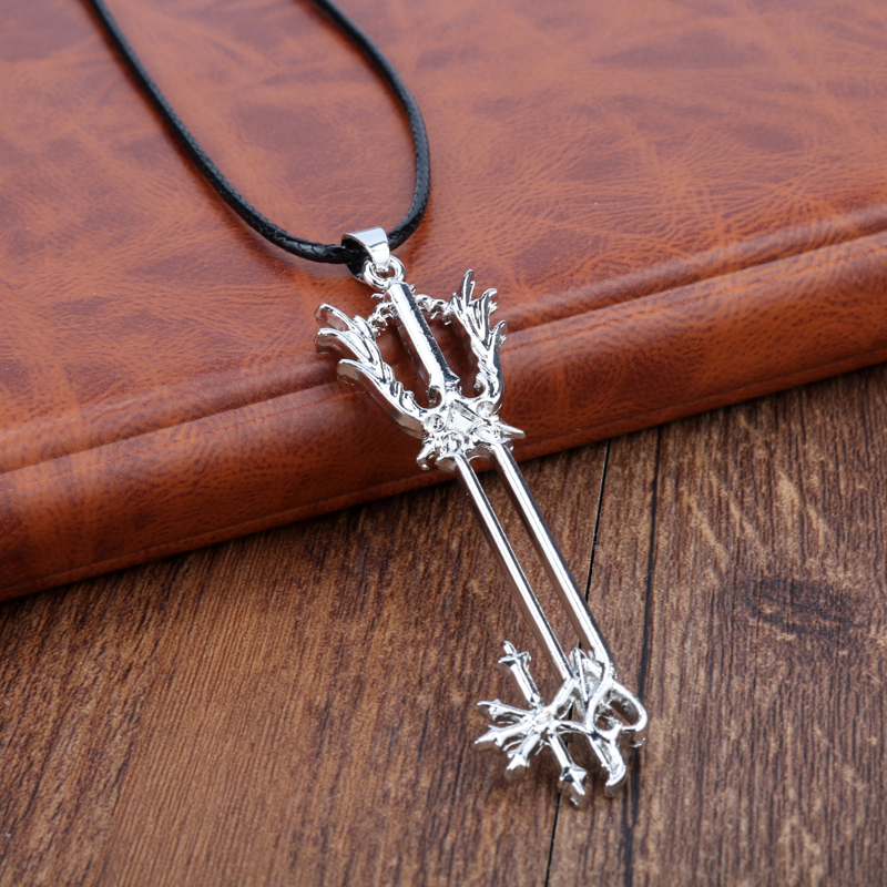 Game kingdom hearts necklace sora keyblade pendant fashion link game kingdom hearts necklace sora keyblade pendant fashion link chain necklaces pendants women men charm gifts jewelry in pendant necklaces from jewelry aloadofball Image collections