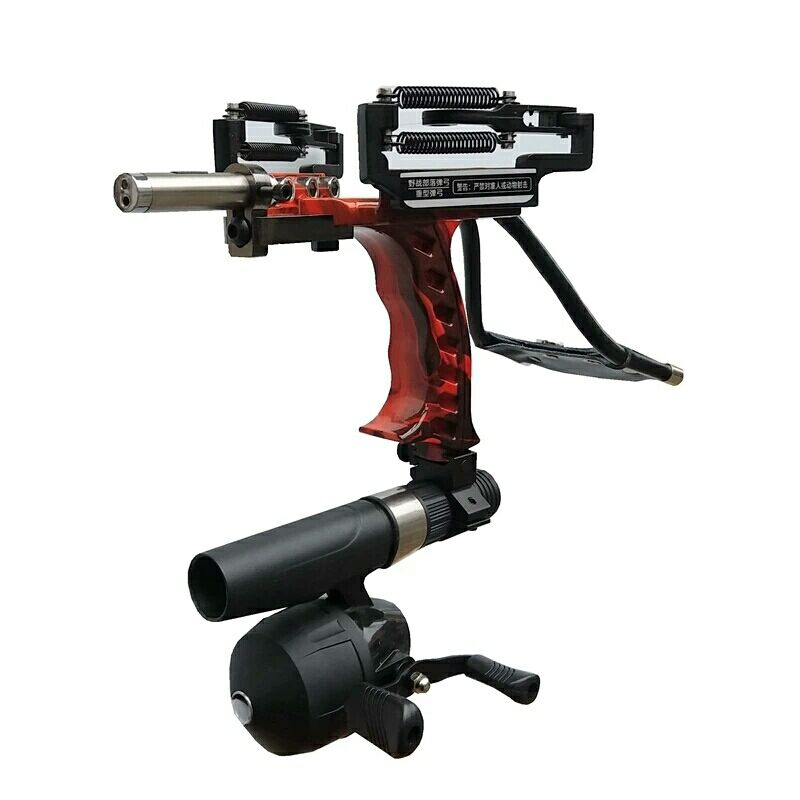 New Elastic Hunting Fishing Slingshot Shooting Catapult Bow Arrow Rest Bow Laser Sling Shot Catapult Crossbow