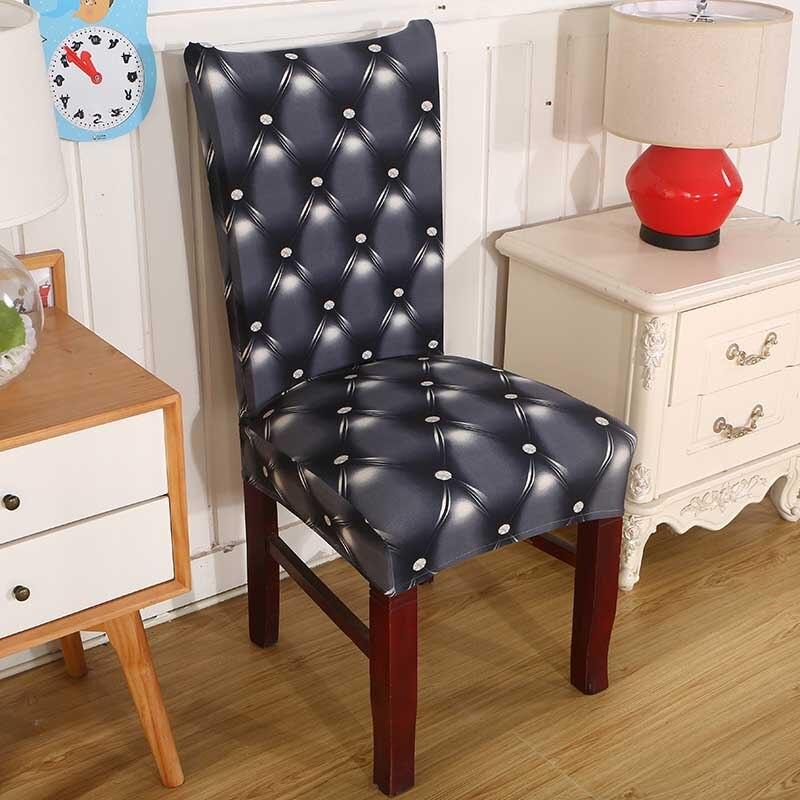 Buy Dining Chair: Aliexpress.com : Buy Spandex Elastic Printing Dining Chair
