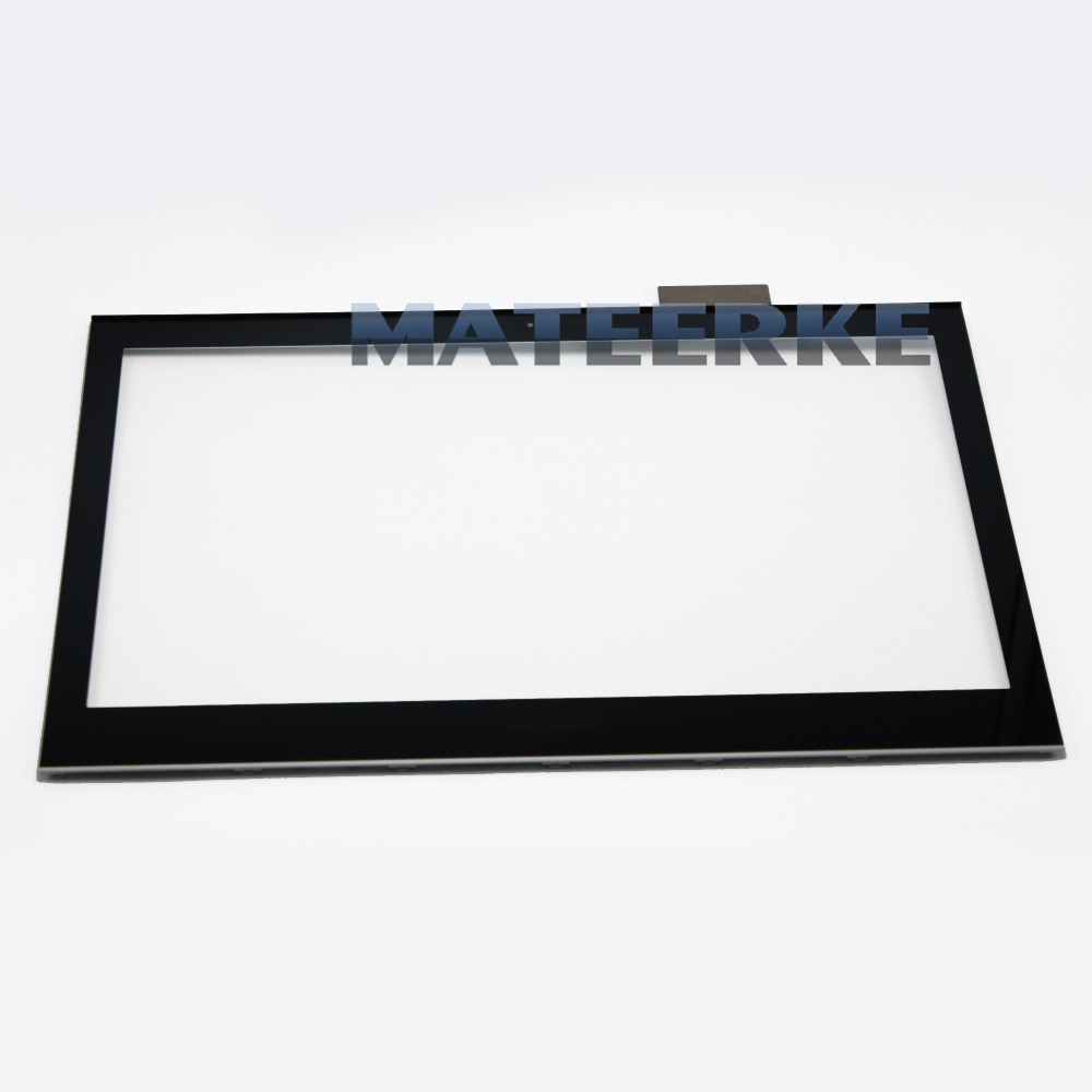 Touch Screen Digitizer Glass Replacemet For Sony Vaio SVT151A11L SVT15117CXS with Bezel full lcd display touch screen digitizer assembly bezel for sony vaio t15 svt15 svt15117cxs svt15112cxs svt151a11l svt15115cxs