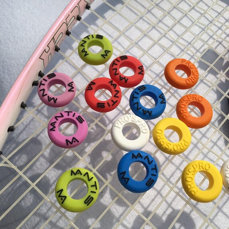 (50 Teile/los) Verschiedene Tennisschläger Schwingungsdämpfer Tennisschläger Stoßdämpfung Um 50 Prozent Reduziert