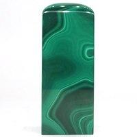 2,75 натуральный зелёные малахитовые пальмовый камень печать кристалл драгоценный камень минералы Декор