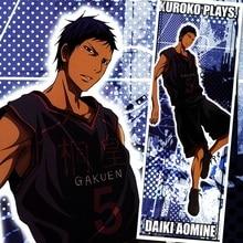 45X125CM Kuroko no Basuke Basketball Aomine Daiki Anime Cartoon scroll wall picture mural poster art cloth