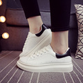 Free Shipping 2016 Shoes Woman Spring New Women White Shoes Increased Heavy-bottomed Sneakers 31 ZMX