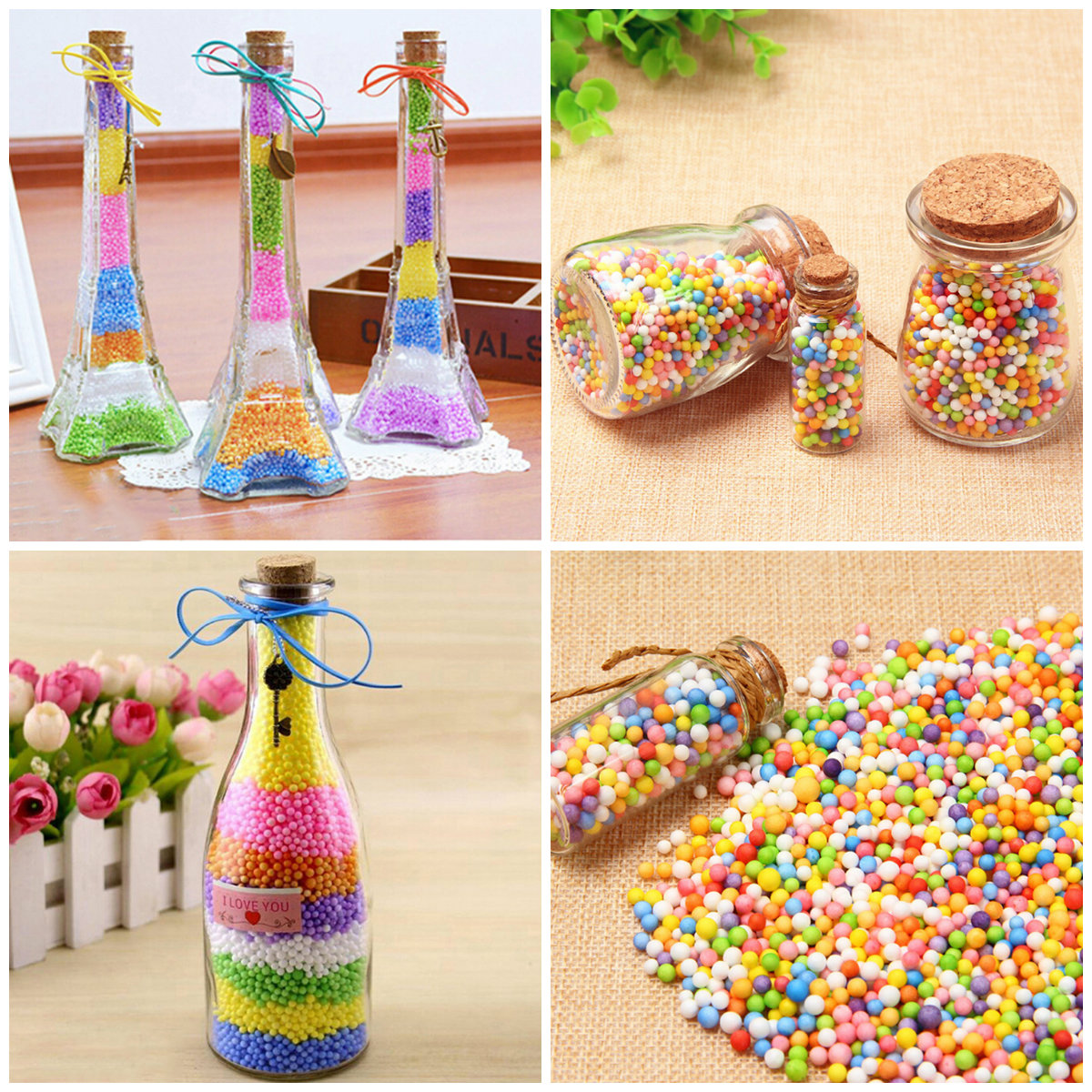 Modeling Clay Realistic 6000pcs/pack Small Tiny Foam Beads For Floam Filler For Diy Supplies 2.5-3.5mm Diy Snow Mud Particles Accessories Slime Balls Modern And Elegant In Fashion Toys & Hobbies