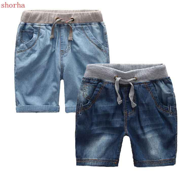 2019 jungen Sommer Denim Shorts Marke Mode Jeans Big Jungen Shorts 1-12Y kinder Strand Shorts Casual Jungen shorts