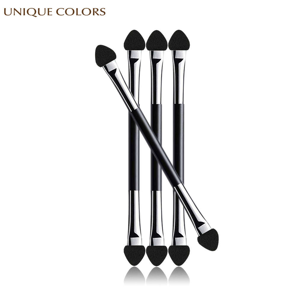20Pcs Eyeshadow Applicator Pro Sponge Double Ended Make Up Supplies Portable Eye Shadow Brushes Nail Powder Brush Cosmetic Tools in Eye Shadow Applicator from Beauty Health