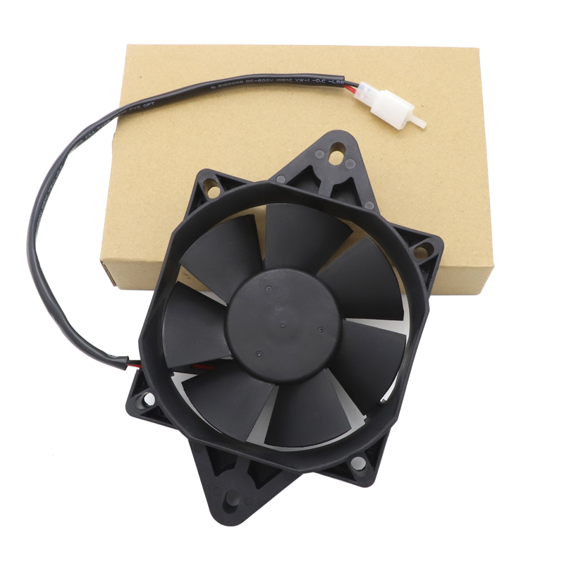 Electric ATV Radiator Cooling Fan Radiator Cooling Fans For CRF YZF KTM KXF RMZ KLX DRZ Quad ATV Go Kart Buggy Motocross