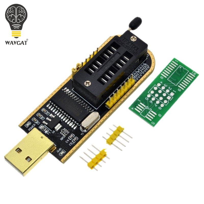 Ch341a 24 25 Series Eeprom Flash Bios Usb Programmer Module Usb To Ttl 5v-3.3v 2019 Official Memory Cards & Ssd