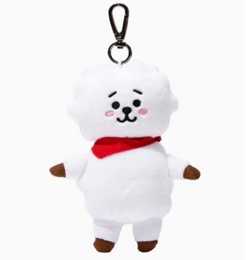 Брелок плюшевая игрушка к-поп BTS в ассортименте 2
