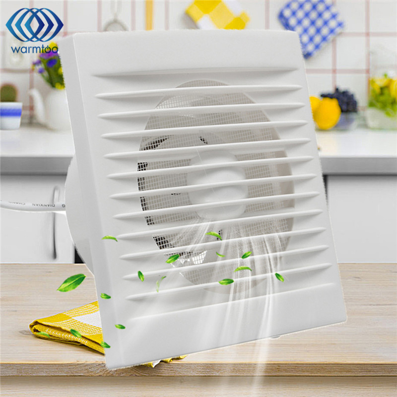 12w 220v Hanging Wall Window Glass Small White Ventilator Extractor Exhaust Fans Toilet Bathroom Kitchen