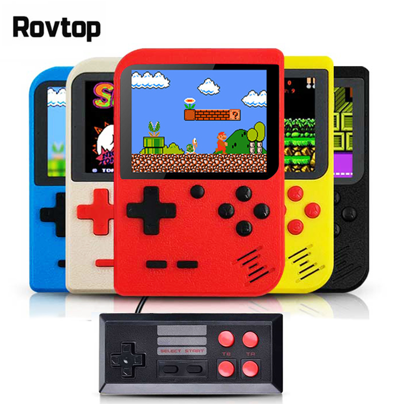 Rovtop Portable Handheld Game Players Retro Game Console Built-In 400 Games Support