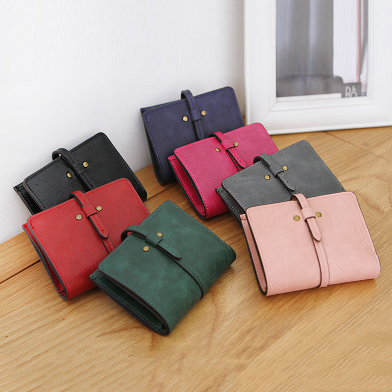 все цены на Fashion Lady Women Mini Lovely Purse Clutch Wallet Short Small Bag PU Card Holder  LXX9 онлайн