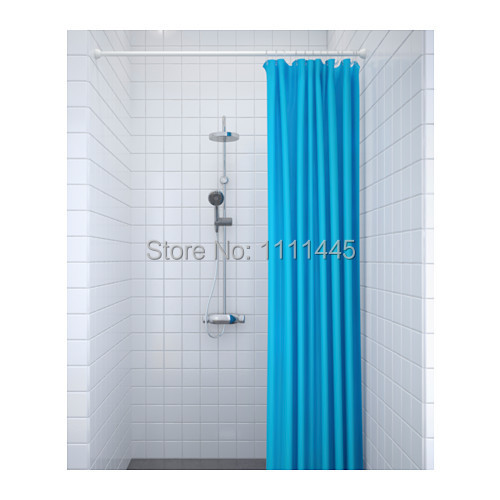 Shower Curtain Rod Poleswhiteinstall Without Screws Or Drillingextend It From 11 2meters DHL UPS FEDEX TNT SHIPPING In Poles Home