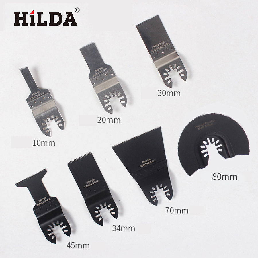 HILDA Oscillating Tool Saw Blades Accessories Fit For For Multimaster Power Tools