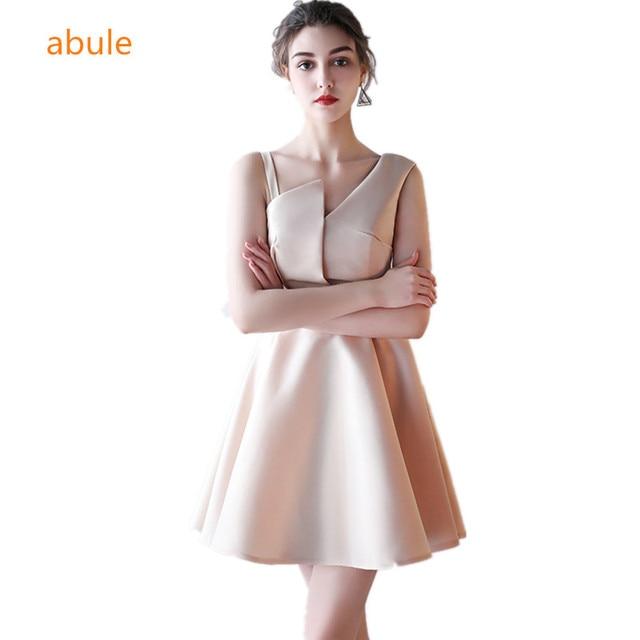 48a2c4fd9db abule 2017 summer party short evening dresses straight Homecoming dress  Vestido de Festa gown sleeveless Robe De Soiree