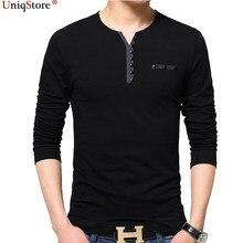 521a276293b6 Uniqstore longo-sleeved T-shirt plus size Camisas Dos Homens cara grande  solto grande tamanho Dos Homens de Manga Longa Camiseta.