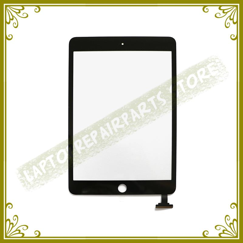 100% Tested Genuine New White Black 7.9 Digitizer Front Glass LCD Panel For Ipad Mini 1 2 Touch Screen Replacement Repair Part 5pcs lot 100% new original oneplus one lcd screen touch panel digitizer for oneplus one 64gb 16gb lcd display 100%tested