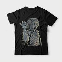 アルバートアインシュタイン塩ペ· tシャツ面白いインターネットミーム科学オタ