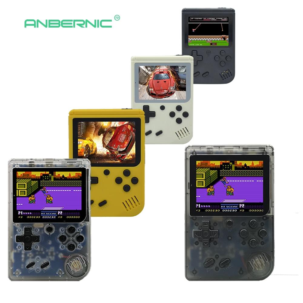 Kinder Retro Mini Tragbare Handheld Spielkonsole Spieler 3,0 zoll Schwarz 8 Bit Klassische Video Handheld Spielkonsole RETRO-FC 07